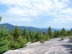 Summit at local hiking trail