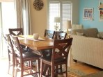 new counter height dining room table - seating for 6