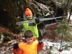 Ice swords!