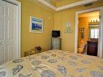 Guest bedroom includes en suite bathroom