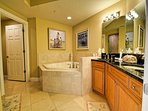 Large en suite master bathroom