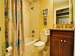 Bathroom off of guest bedroom 1
