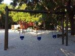 View of Playground at Night Heron Park
