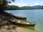 Close to Nantahala Lake, underneath the lake is the town of AQUONE