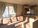 Gorgeous, modern and great for families. Our caravan offers all you need for a great holiday.