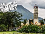 We Are just 40 minutes from La Fortuna, Arenal Volcano