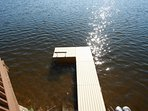 Private pier with boat dock. Bring your own boat or rent one from a nearby vendor.