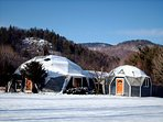 Amazing Geodesic Dome House - Hot Tub - Fireplace - Wifi - Near Sunday River Ski