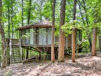 Experience the Appalachian Mountains in this unique 2-bedroom, 2-bathroom vacation rental house in Big Canoe!