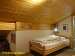 Galery-bedroom with 2 beds