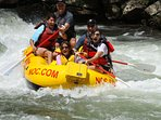 Go whitewater rafting one of the many activities that are local to the cabin