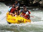 Enjoy whitewater rafting on Nantahala river