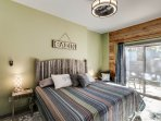 The master bedroom is a haven away for the daily stress of life!