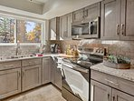 Utilize the fully equipped kitchen for dining-in each evening.