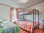 Let the kids choose a spot on the twin-over-full bunk bed, on the twin daybed, or on the twin trundle found in the...