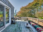 Escape to the edge of East Hampton when you stay in this vacation rental villa in Montauk!