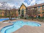 Gerrys amazing 1 BR Mtn Front condo #324 * Appalachian * Mountain Creek Resort