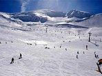 Estación de esquí de Valdezcaray a 10 kms. de casa