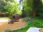 Barbecue logs for Log burner