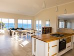 Open Plan area with sea view around you