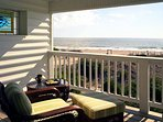 master bedroom private balcony views for miles