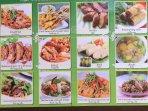 Sample Thai menus