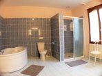 with its huge en suite bathroom
