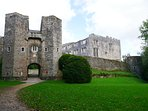 Berry Pomeroy Castle near Torquay is reputed to be one of the most haunted in Britain.