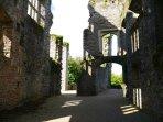 Berry Pomeroy Castle near Torquay - superb ruins of an amazing castle.