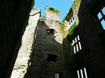 Berry Pomeroy Castle - a short distance from Torquay & reputed to be one of UK's most haunted.