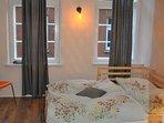 Alle drei Schlafzimmer sind mit 160x200er Betten ausgestattet...