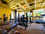 Enjoy the exercise room