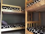 Dormitory with buck Beds  This room occupies 6 people
