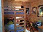 Second bedroom bunk bed