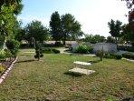 Jardin le Béal avec ancien pressoir