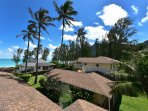 Waimanalo Beach Cottages reserve one or all 9. Great for large groups, sleeps 24 guests.