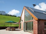 View of the property, a stylish, eco-friendly dairy conversion