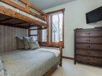 Guest Bedroom- Bunk Bed- (Twin Bed Over Queen Bed)