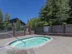 Communal Hot Tub Just Steps away from #883