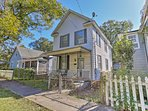 Explore the historic town of Wilmington from this Victorian 2-bedroom, 2.5-bathroom vacation rental home!