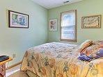Wake up feeling refreshed as natural light illuminates the room!