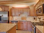 Newly updated modern kitchen