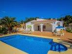 Albertina - private pool villa, free Wifi, in Calpe