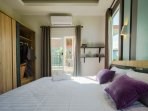 S1 and S2 villa bedroom