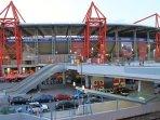 Karaiskaki stadium is close by- 10 min walk from the apartment