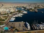Pasalimani or Marina Zeas can be reached within 20 min drive