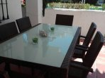 Terrace Dining Table for 6