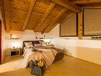 Camera da letto dove vivere momenti di puro relax