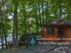 Community Lake Access. No Boat Slip Available.