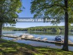 Community Lake Access. No Boat Slip Available.